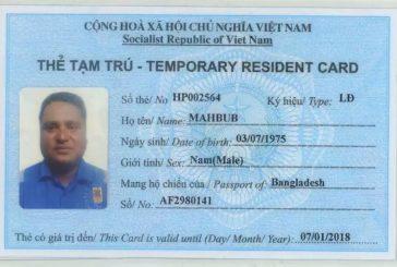 Dịch vụ làm thẻ tạm trú cho người nước ngoài tại Việt Nam