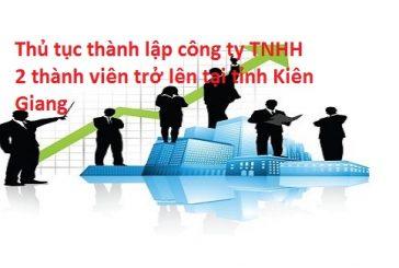 Dịch vụ thành lập công ty nhanh nhất tại thành phố Rạch Giá